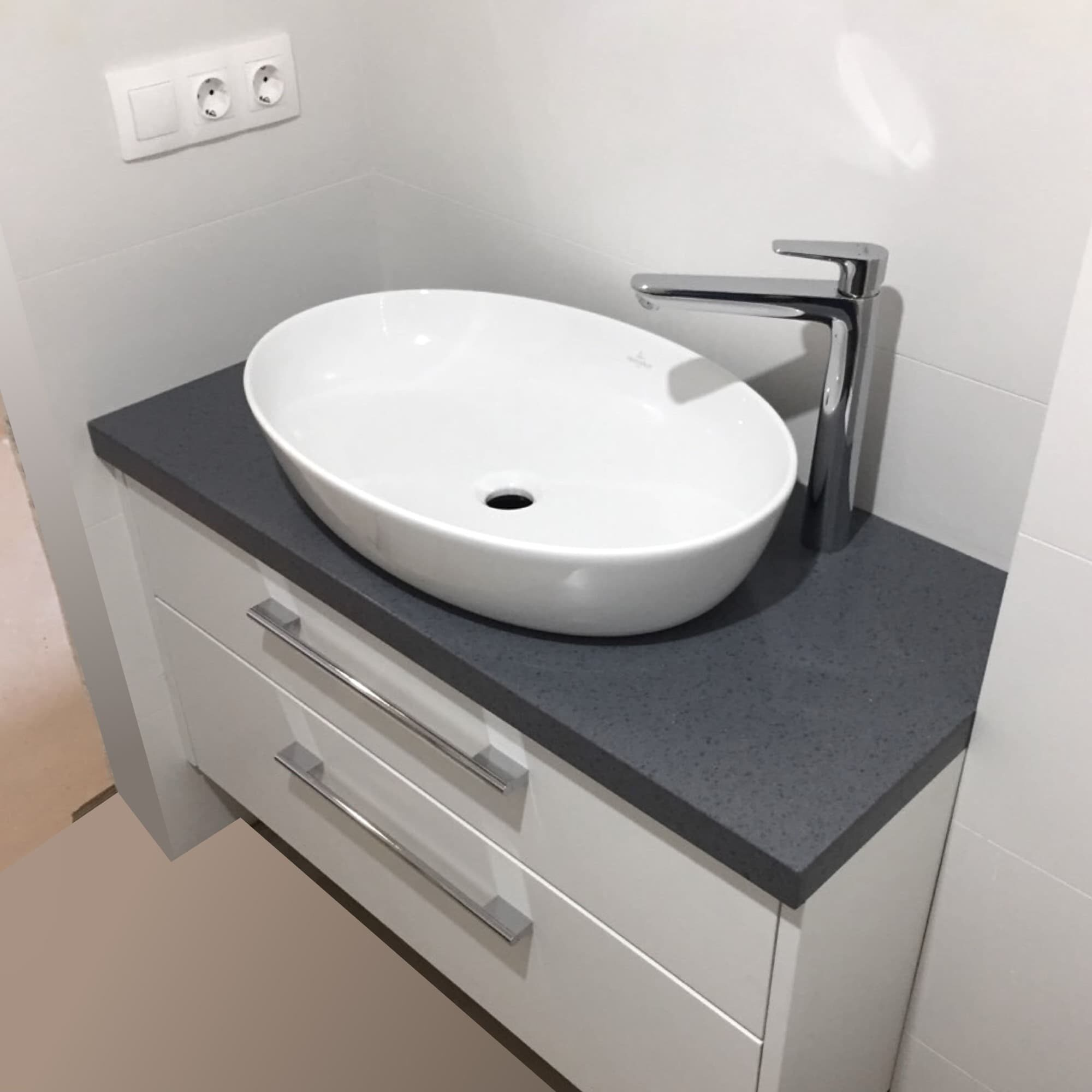 Тумба в ванную под раковину-чашу Villeroy & Boch