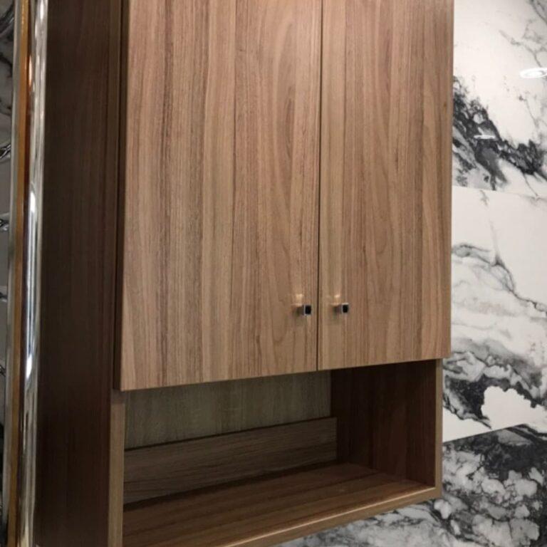 Шкафчик в ванную над стиральной машиной